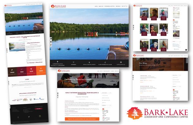 Bark Lake Leadership and Conference Centre Website Development