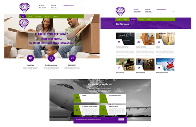 Flynn International selects Annex Graphics for their new website design project
